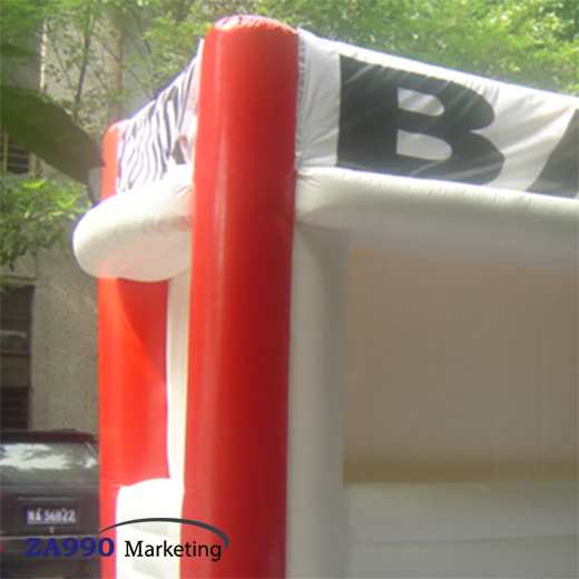 13×10ft Inflatable Selling Bar / Snack Booth With Air Blower