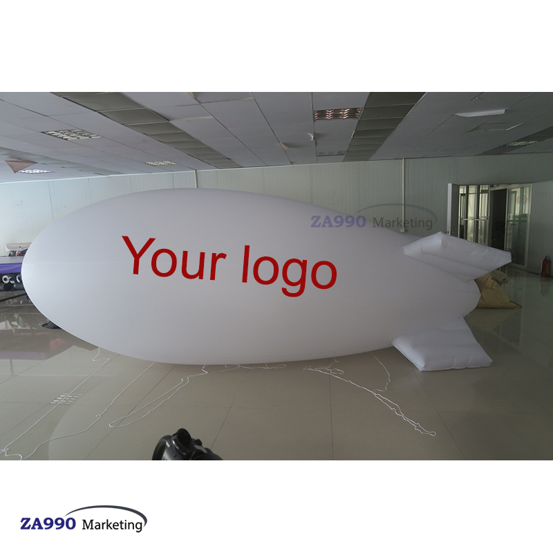 16ft Inflatable Blimp Flying Helium Balloon + Your Logo