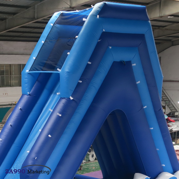 39x16ft Inflatable Water Slide To Pool With Air Blower