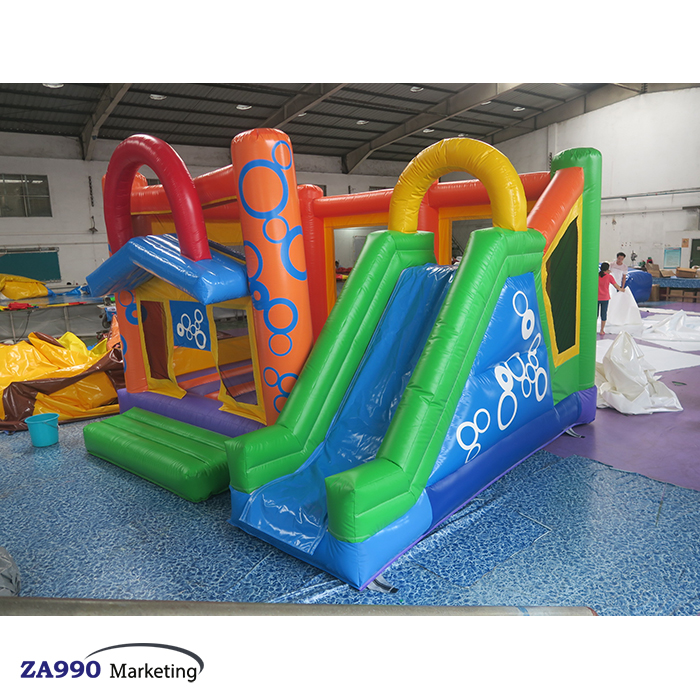 16×13ft Inflatable Bounce House & Slide Bouncy Castle Slide With Air Blower