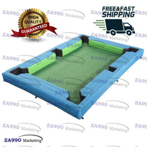 20×13ft Inflatable Snooker Pool Table Billiards Court With Air Blower