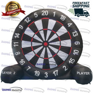 13ft High Inflatable Dart Board For Game Soccer With Air Blower