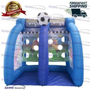 10×6.6ft Inflatable Soccer Kick Toss With Air Blower
