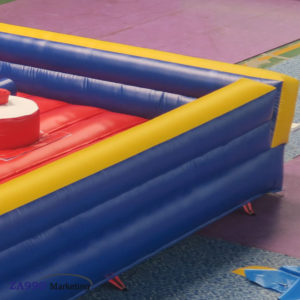 20x20ft Inflatable 4 Players Jousting Sticks With Air Blower