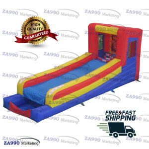 20×6.6ft Inflatable Crazy Skee Ball Tossing With Air Blower
