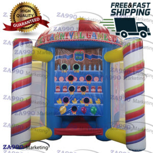 5 IN 1 Inflatable Carnival Activities Funny Games Sports With Air Blower