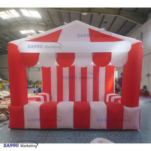 10×10ft Booth Inflatable Snack / Food / Products For Sale With Air Blower
