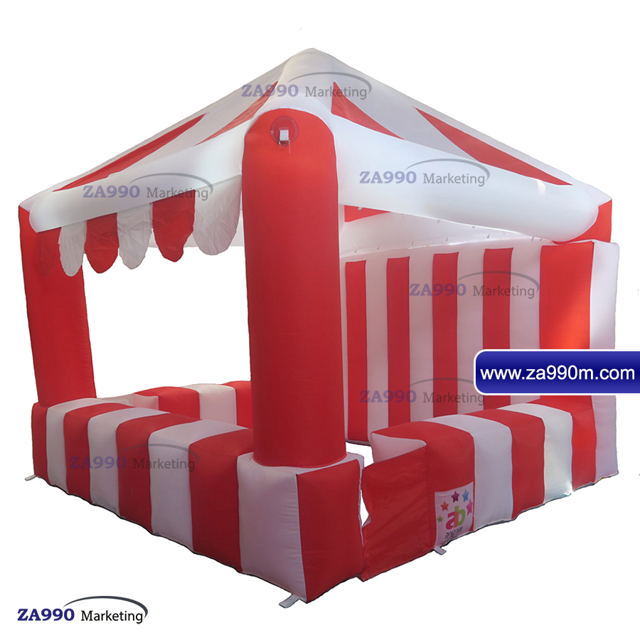 Details about 10×10ft Inflatable Snack / Food / Products Booth For Sale  With Air Blower NEW
