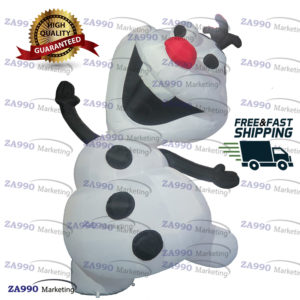 10ft Inflatable Snowman Christmas With Air Blower