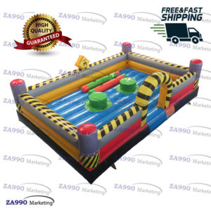 20x13ft Inflatable Jousting Sticks Sport Game With Air Blower