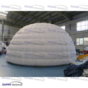 20ft Diameter Inflatable Igloo Dome LED Light Tent With Air Blower