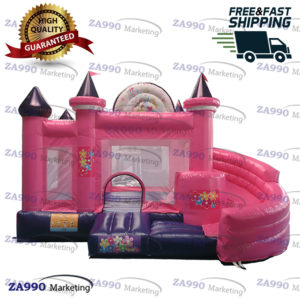15×13ft Inflatable Princess Castle With Air Blower