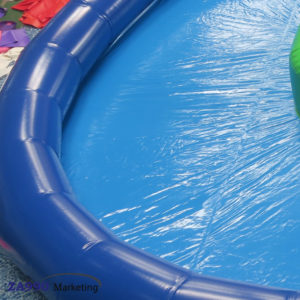 26x23ft Inflatable Pool With Tree & Rainbow Archway With Air Pump