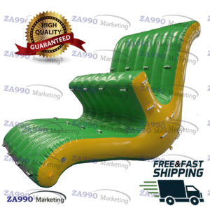 13x8ft Commercial Inflatable Seesaw Water Totter Pool Sea With Air Pump