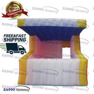 13x10ft Inflatable Bar Drink / Food Concession Stand Booth With Air Blower