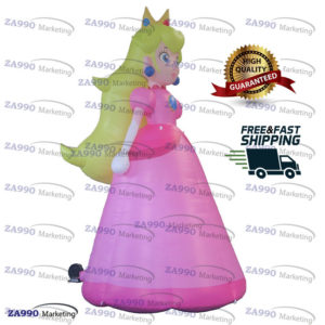 13ft Inflatable Princess Cartoon For Advertising With Air Blower