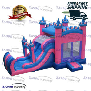 20×10ft Inflatable Bounce House & Slide With Air Blower