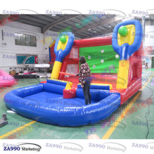 13x10ft Inflatable Baseball Activitie Game With Air Blower