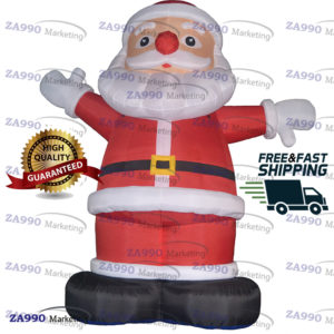 16ft Inflatable Sante Clause Christmas With Air Blower