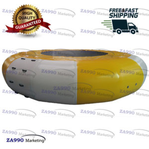 10ft Inflatable Water Bounce Trampoline For Pool and Sea