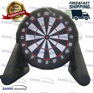 13ft Inflatable Dart Board For Game Soccer With Air Blower
