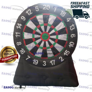 6.6ft Inflatable Target Dart Board 20 Darts With Air Blower