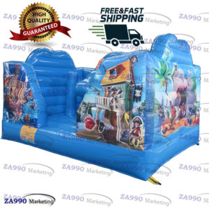 13x10ft Inflatable Bouncy House With Air Blower