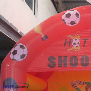 16x10ft Inflatable Soccer Kick Toss With Air Blower