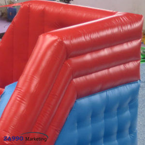 26x10ft Inflatable 4 Big Jump Balls Wipeout With Air Blower