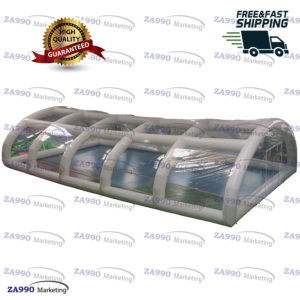 39x20ft Inflatable Dome Tent Cover For Swimming Pool With Air Pump
