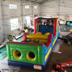 33x10ft Inflatable Course Obstacle With Air Blower