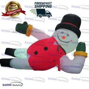 13ft Inflatable Snowman Christmas Decorations With Air Blower