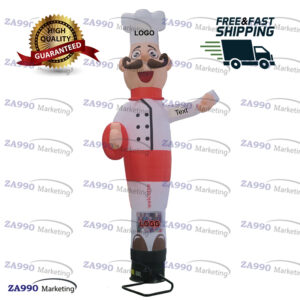 13ft Inflatable Air Dancing Wind Dancer Chef Restaurants With Blower
