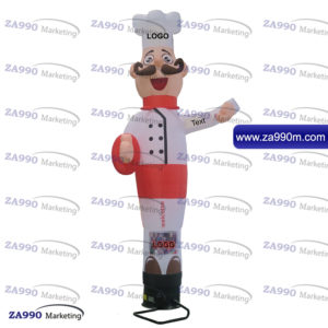 13ft Air Inflatable Dancing Wind Dancer Chef Restaurants With Blower