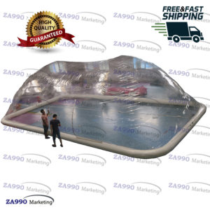 33x20ft Inflatable Dome Tent Cover For Swimming Pool With Air Pump
