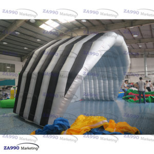 20x13ft Inflatable Stage Cover Tent With Air Blower