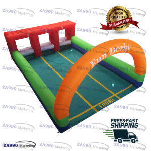 23x16ft Inflatable Pony Hop Horse Derby Race With Air Blower