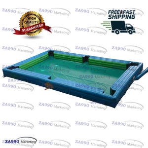 26x16ft Inflatable Snooker Pool Table Billiards Court With Air Blower