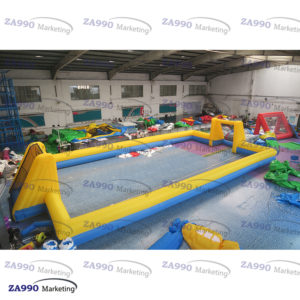 49x20ft Inflatable Field Soccer Sport Arena With Air Blower