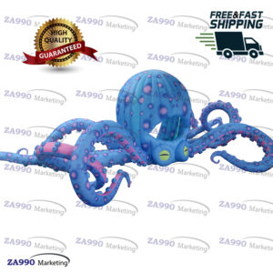 49ft Inflatable Octopus LED Tentacles Stage With 2 x Air Blowers
