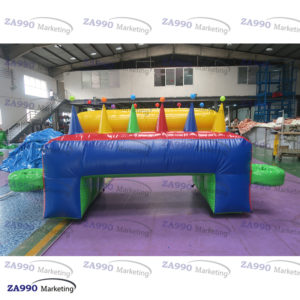 11.5×4.5ft Inflatable Ball Floating Carnival Activitie Game With Air Blower