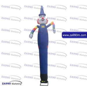 13ft Air Inflatable Dancing Wind Dancer Funny Crazy Clown With Blower