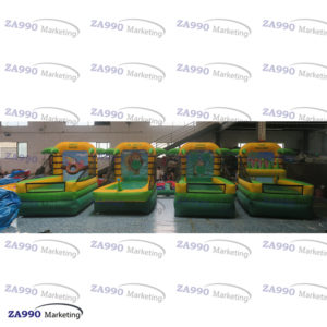 Inflatable 4 IN 1 Activities Carnival Sport Games With Air Blower