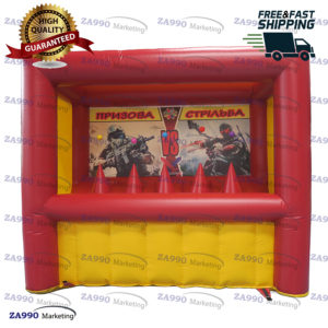 10x5ft Inflatable Shooting Archery Target With Air Blower