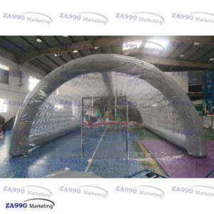 20x13ft Inflatable Tunnel Dome Tent Cover For Swimming Pool With Air Pump