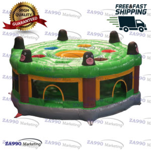 13ft Round – 6 People Inflatable HUMAN Whack A Mole With Air Blower