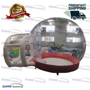 13x5ft Inflatable Christmas Clear Bubble Tent With Air Blower