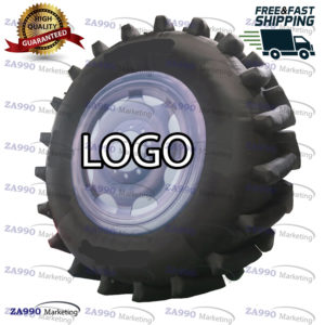 13ft Inflatable Wheel Tire Advertising With Air Blower