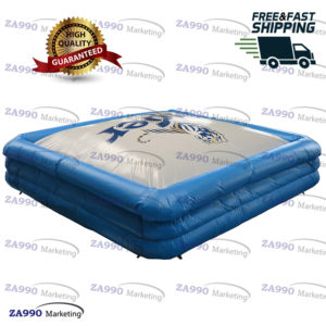 23x23ft Inflatable Stunt Jump Air Bag With Air Blower