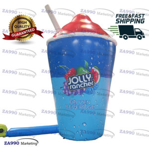 13ft Inflatable Drink Juice Cup With Pipe Advertising With Air Blower